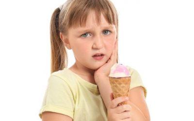 Little Girl with Sensitive Teeth